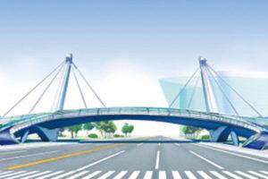 シンボリックな橋梁デザイン